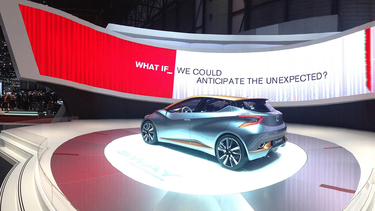 Nissans Stunningledscreen Forconceptcar Sway 3