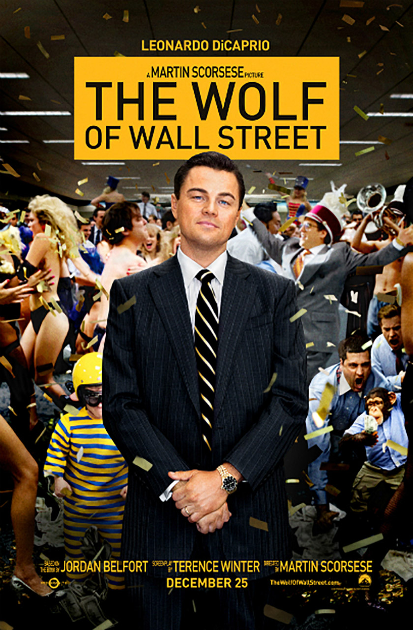 The Wolf Of Wall Street Poster 1 2 1