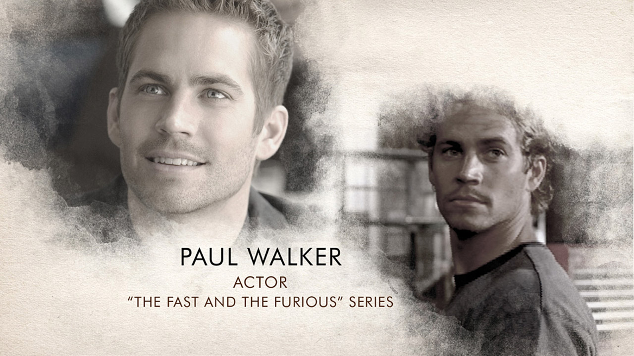 In Memoriam Paul Walker V05 7