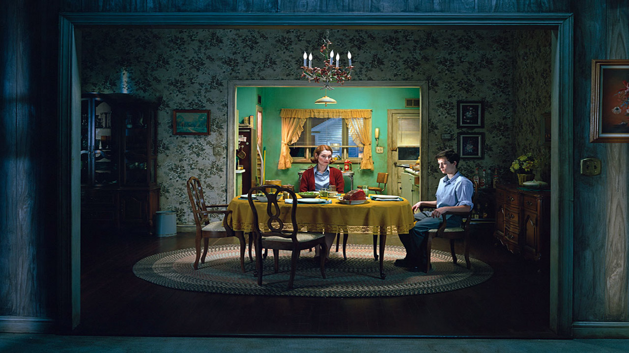 Gregory Crewdson Untitled Sunday Roast E28098beneath The Roses  2005 8