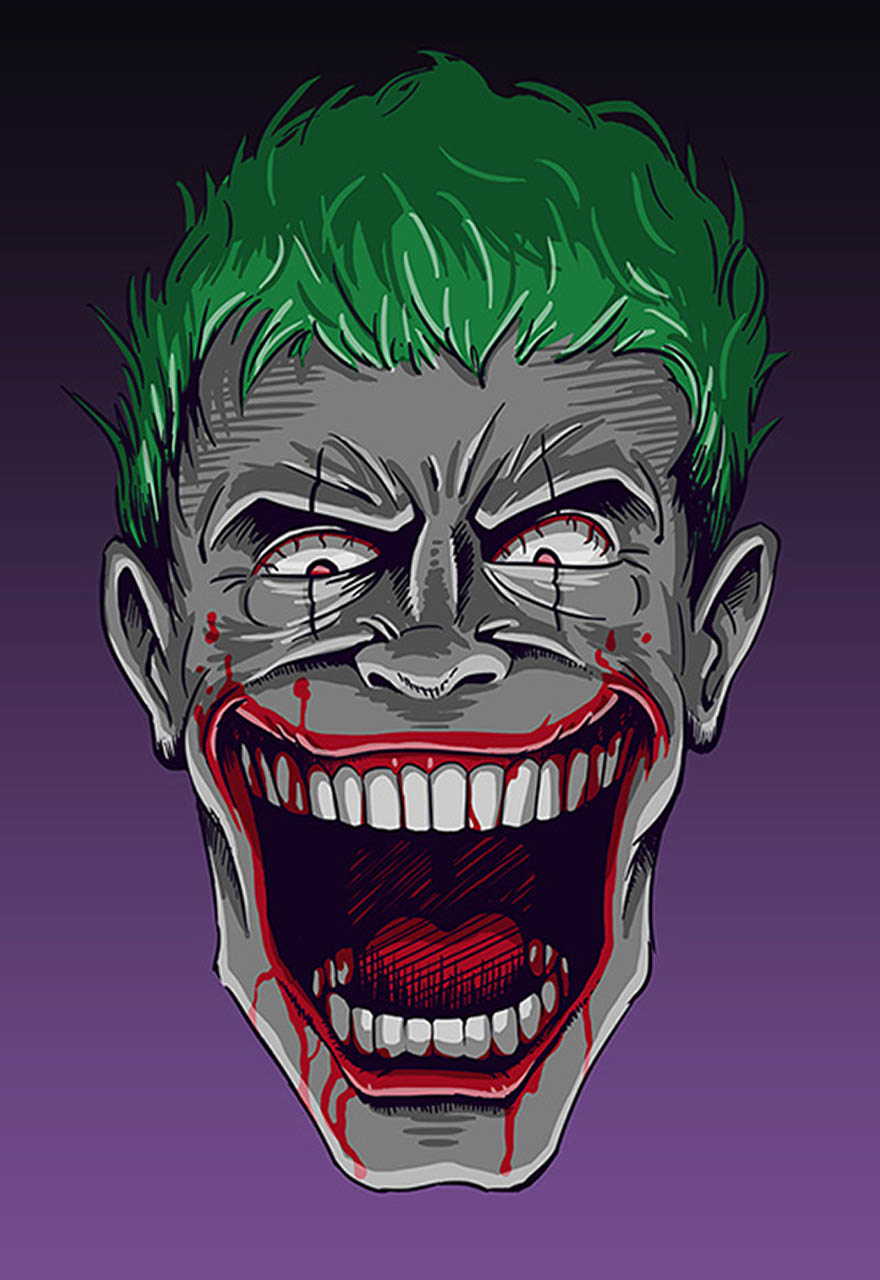 Joker Luke Tickner 1