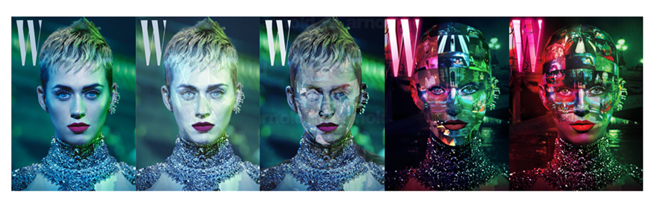 W Magazine Progression