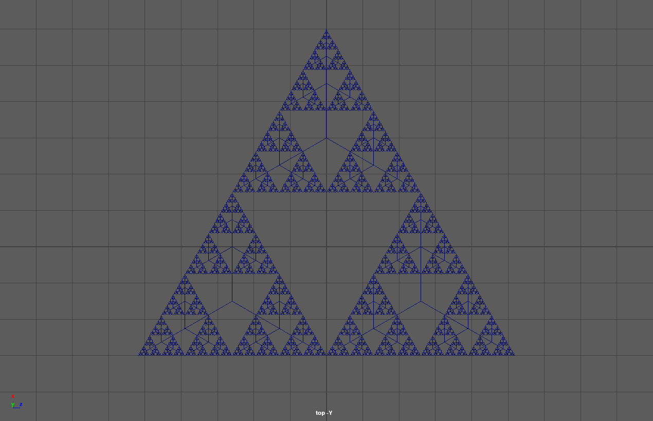 Sierpinski Triangle Cropped